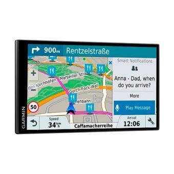 GPS con Pantalla Táctil Garmin Drivesmart 61 Europa Lmt-s Navegador sin Bordes de 6.95''