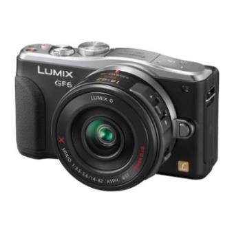 Panasonic LUMIX DMC-GF6 (Negro)