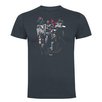 Camiseta manga corta Friking, Modelo 752 Marvel, Spidey Break Time, Talla L, Ebano