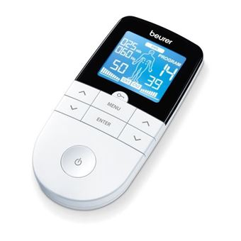 Dispositivo digital BEURER EM49 TENS / EMS (4 electrodos)