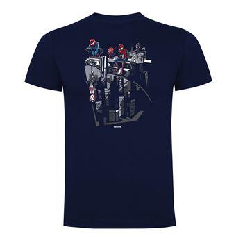 Camiseta manga corta Friking, Modelo 752 Marvel, Spidey Break Time, Talla L, Navy