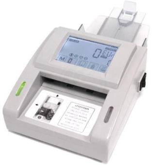 Detector De Billetes Falsos Con Totalizador Lcd Tactil Contador