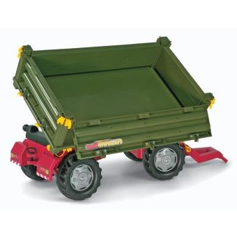 Rolly Toys 125005 rollyMulti Trailer - Remolque, 2 ejes