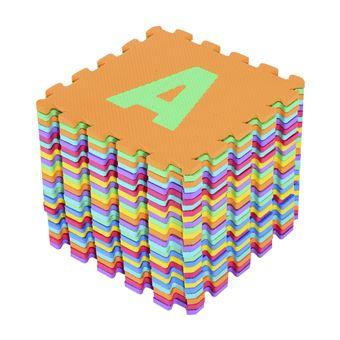 a289756422a alfombra puzle letras abecedario az para nios goma eva m colores variados  alfombras infantiles los mejores precios fnac with alfombras para infantiles