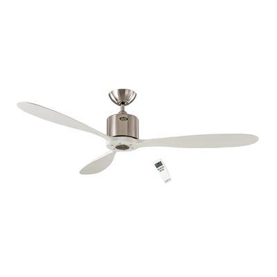 Ventilador de techo CasaFan 313248 AEROPLAN ECO blanco/ cromo satinado