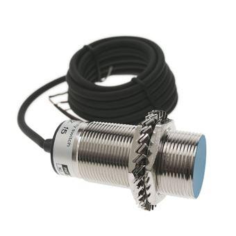 Sensor interruptor de proximidad inductivo BeMatik 6-36 VDC PNP NO M30 Sn:10mm