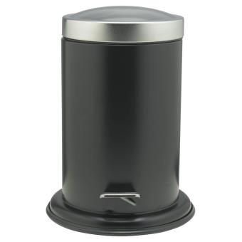 Papelera con pedal Sealskin Acero negra 3 L