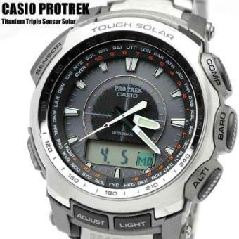 da190dffb8e8 Reloj Casio Protrek Triple Sensor TITANIO PRG-510T-7 - Reloj Hombre Deporte  - Los mejores precios