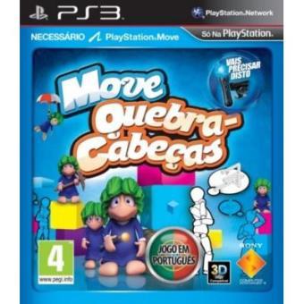 Move Quebra-Cabeças - PS3 [Importación portuguesa]