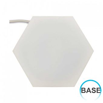 Panel LED Puzzle Enlazable Hexagonal Base 10W 32x37cm 4000K 7hSevenOn Deco