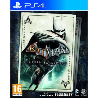 Batman: Return to Arkham (playstation 4) [importación Inglesa]