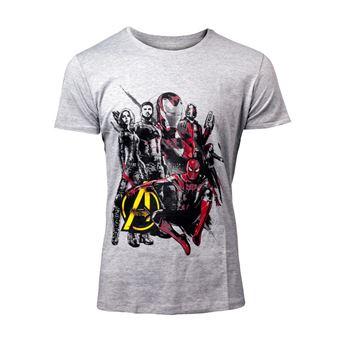 Camiseta, Talla Marvel Avengers Infinity War Characters, Talla XL