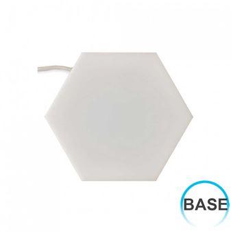 Panel LED Puzzle Enlazable Hexagonal Base 3,5W 200lm 16x18,5cm 4000K 7hSevenOn Deco