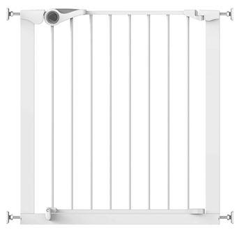 Puerta de seguridad Noma, Easy Pressure Fit 75-82 cm metal Blanca 93439