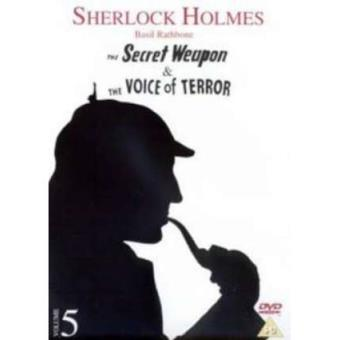 Sherlock Holmes - Voice of Terror / Secret Weapon [dvd] [reino Unido]