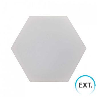 Panel LED Puzzle Enlazable Hexagonal Extensión 9,4W 800lm 32x37cm 4000K 7hSevenOn Deco