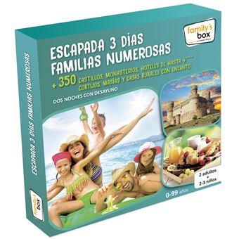 Pack Experiencia Escapada Familias 3 Días para Familias Numerosas