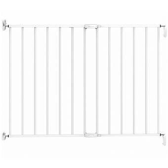Puerta de seguridad Noma, extensible 62-102 cm metal Blanca 93361