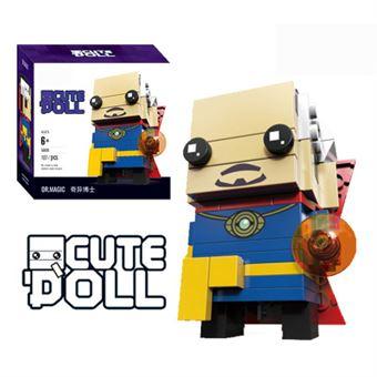 Figura Decool CuteDool Mini 9cm Puzzle Mega Bloks Marvel, Doctor Strange Steven