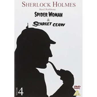 Sherlock Holmes - Spiderwoman / Scarlet Claw [dvd] [reino Unido]