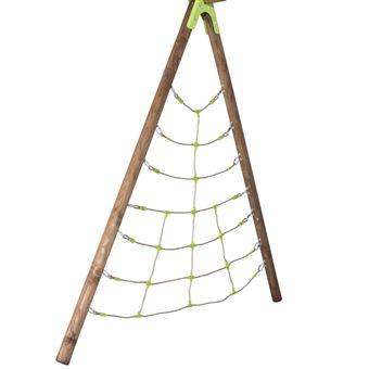 Red de escalar Spider para set columpios Trigano, madera 2,3 m J-900550