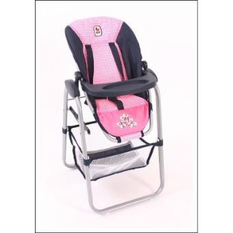Bayer Chic 2000 655 46 Trona para muñecas con silla desmontable