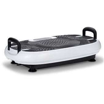 Plataforma Vibratoria VibroSlim Radial Plus 3D - Blanco