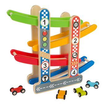 Circuito coches madera Play&Learn