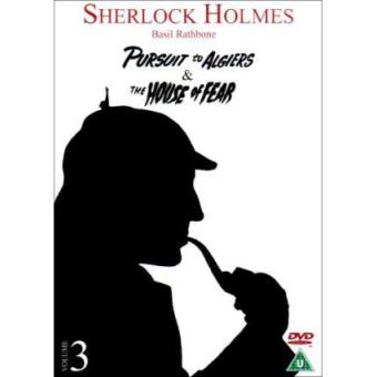 Sherlock Holmes - Pursuit to Algiers / House of Fear [dvd] [reino Unido]