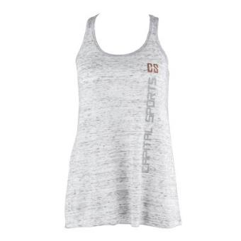 Camiseta deportiva de tirantes mujer Talla M blanco marmolado ... 63ec9941b649e