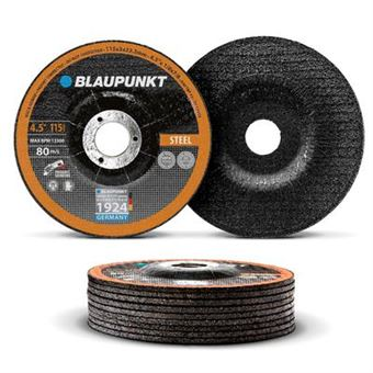 Disco de corte Blaupunkt BP-CW-S4125 - Para metal - 115 x 3 x 22.2 mm - Grosor 3 mm