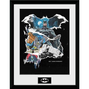 Fotografía Enmarcada Batman Comic Rip