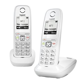 Gigaset As405 duo Dect Blanco