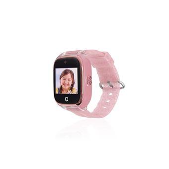 Smartwatch para niños con GPS SaveFamily, SaveKids Superior Rosa