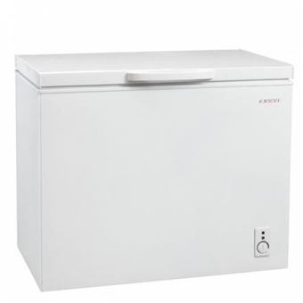 Congelador horizontal Jocel JCH-255, 255 litros, Blanco, Clase de Eficiencia A+