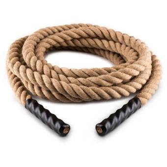 capital sports power rope cuerda para impulsar 9 m 38cm cuerda camo 3 cabos ideal crossfit impulso escalada entrenamiento horizontal o vertical - Cuerda Caamo