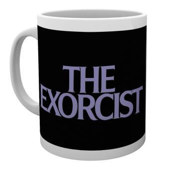 Taza de ceramica El Exorcista Key Art