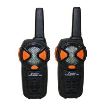 Stabo Elektronik - Walkie Talkies Frecomm 100, cubre hasta 10 km (20100) (importado)