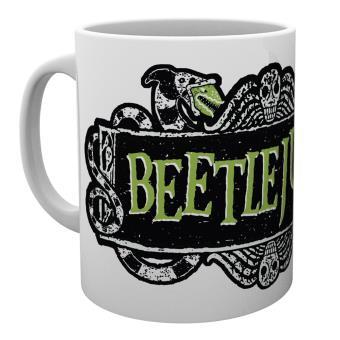 Taza de ceramica Beetlejuice Logo
