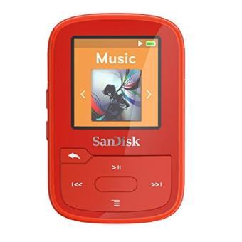 Sandisk Sdmx28-016g-g46r MP3 16gb Rojo Reproductor Mp3/mp4