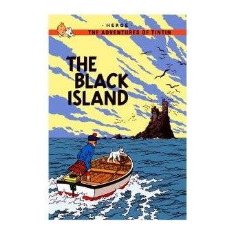 Tintin 07/Black island (inglés)