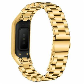 Pulsera Acero Stainless Lux + Herramienta Samsung Galaxy Fit e (R375) Gold