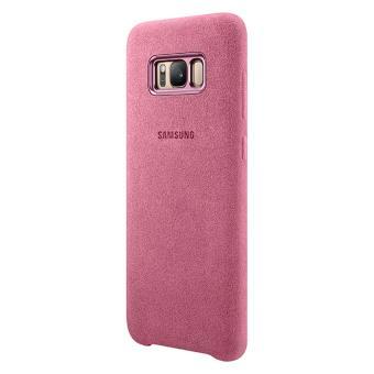 c2a5cea46ec Funda Original Samsung Galaxy S8 Alcantara Rosa - Fundas y carcasas para  teléfono móvil - Los mejores precios | Fnac