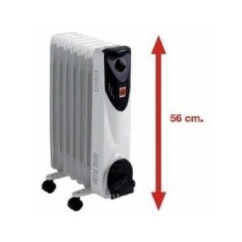 Radiador Aceite Br-15 1500w 7el 56cm