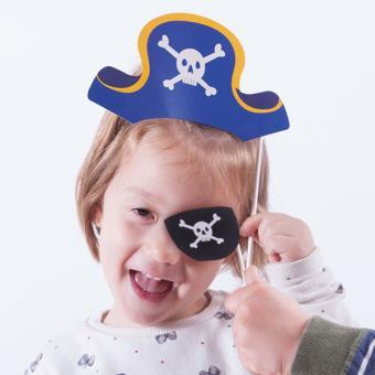 Accesorios Pirata Para Fotos Divertidas (pack de 12)