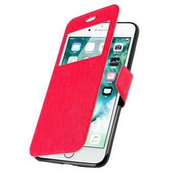 c5f10706484 Funda iPhone 7 Plus / 8 Plus libro con ventana Rosa Función Soporte - Fundas  y carcasas para teléfono móvil - Los mejores precios   Fnac
