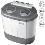 Mini Lavadora Centrifugadora Portátil Camry CR8052 - 3Kg lavado ropa, 1Kg Centrifugado