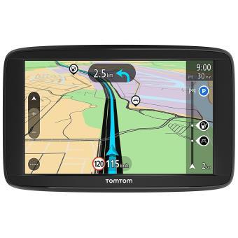 "TomTom Start 62 Portátil/Fijo 6"""" Pantalla táctil 280g Negro - Navegador GPS (Batería, Encendedor de cigarrillos, Portátil/Fijo, USB, Negro, Interno, MicroSD (TransFlash))"