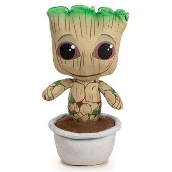 Peluche Baby Groot Maceta Guardianes De La Galaxia Marvel