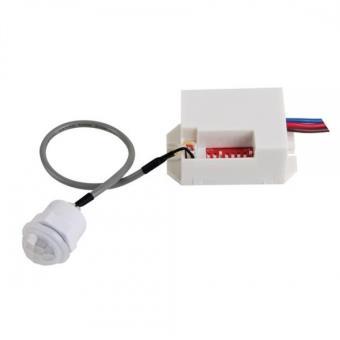 Detector de movimiento de empotrar EDM, regulable 360º